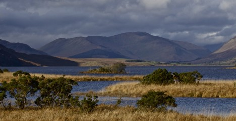 Greenfield Lodge and Lake Bar Gallery - Lough Corrib Mountain View